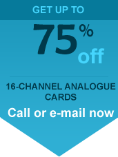 16 channel analogue card offer